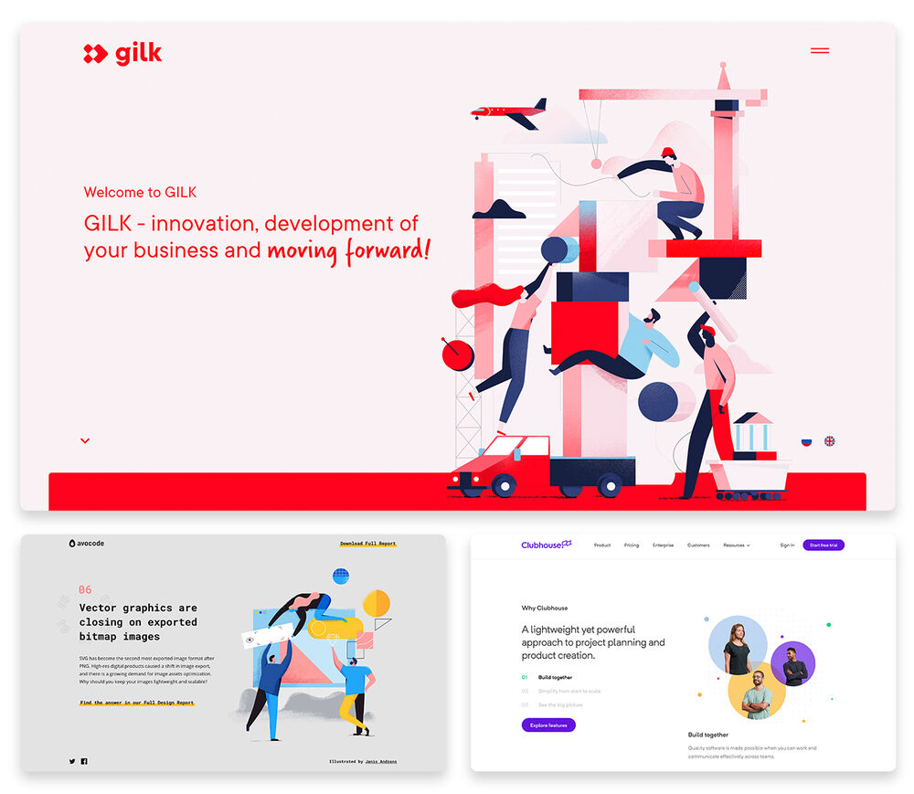 Top 10 Web Design Trends 2019 [With 30+ Stunning Examples]