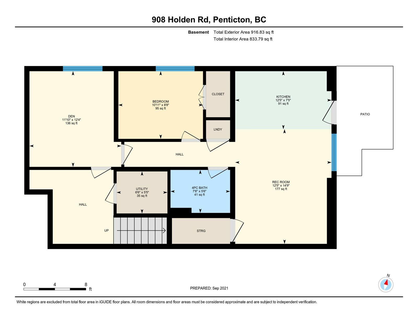 Floor Plan, Basement