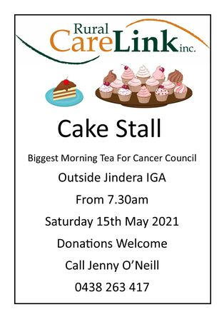 2021 Biggest Morning Tea Cake Stall