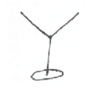 drawing of a martini glass for martini cocktails