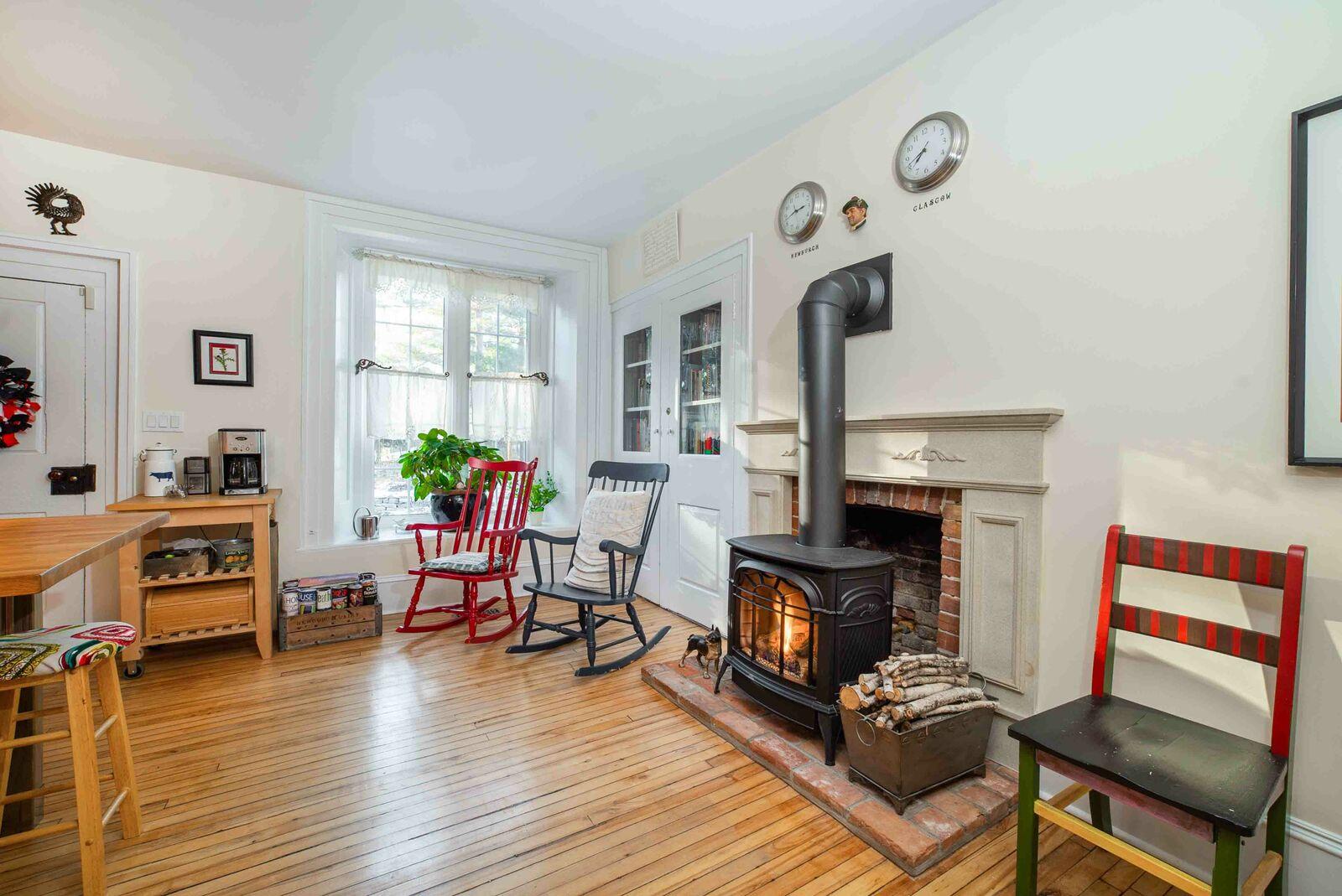 Kitchen Fireplace 2