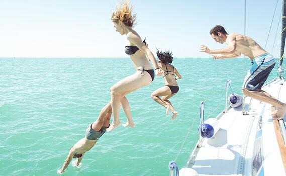 Yacht adventure by VOMOS