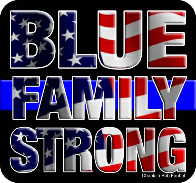 Blue Family, police officers, cops family