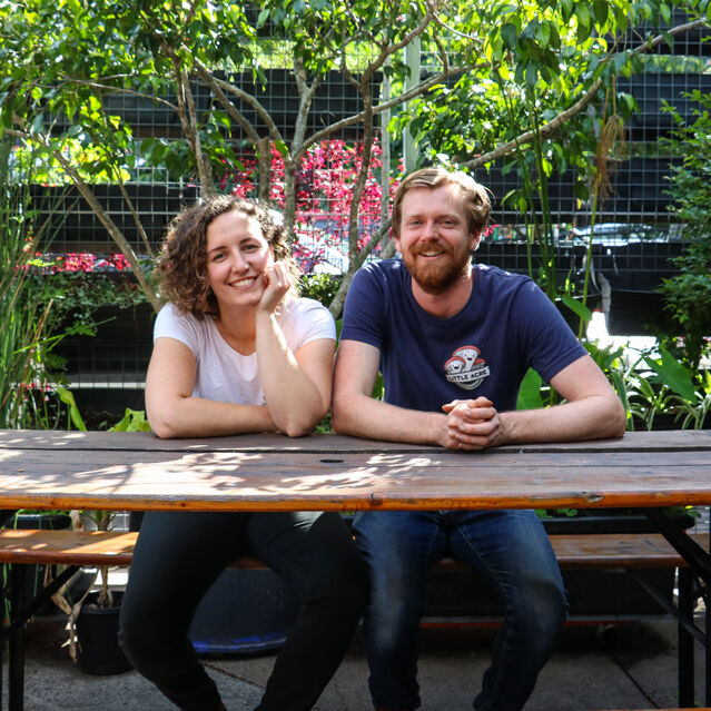 Mickey and Amy are gourmet mushroom growers in Brisbane