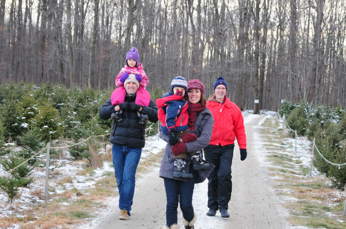 Family memories at Thomas Tree Farm