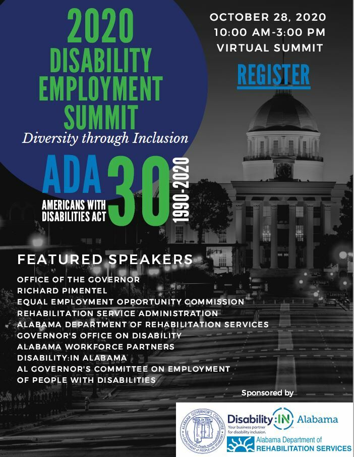 Disability Employment Summit Flyer
