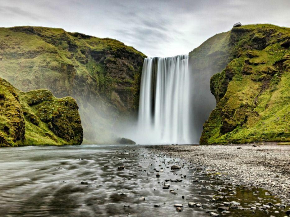 Iceland vacation SkoÌ gafoss