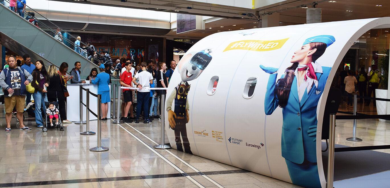 Eine Case Study von collab-ed, einer mehrfach ausgezeichnete, internationale Werbeagentur: #FlyWithEd