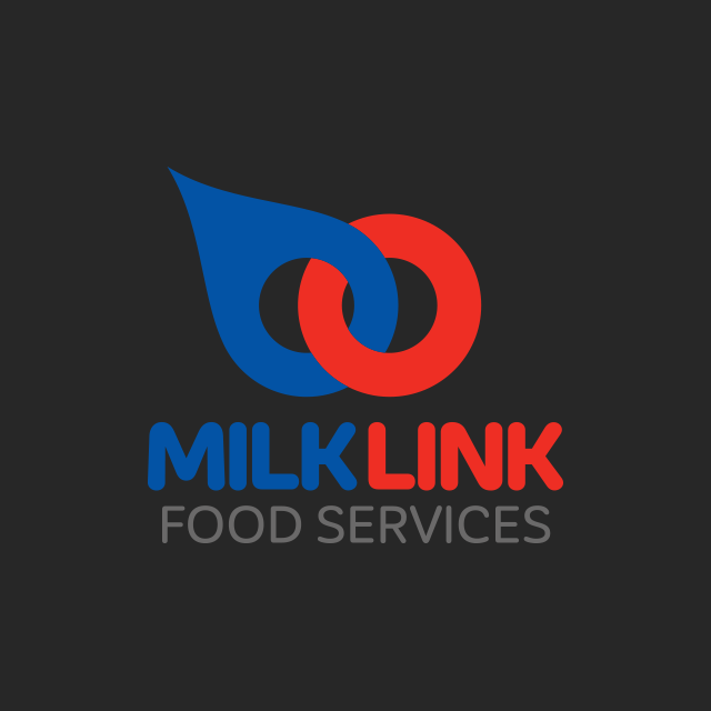 Brand design for Milk Link, a dairy and food distribution company based in Port Macquarie.