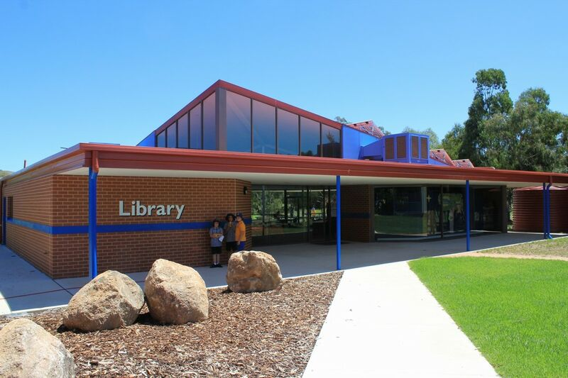 New library, outdoors - 2010