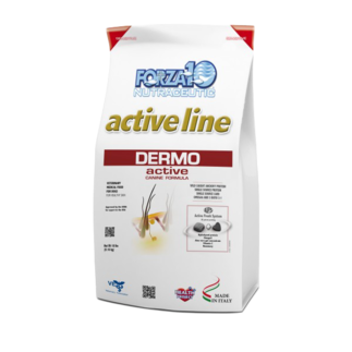 Forza10 activeline specialty dog food for skin and coat.