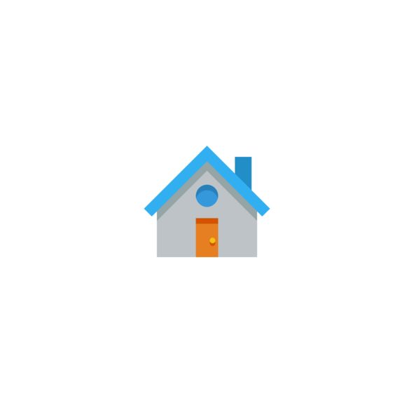 House Icon Blue