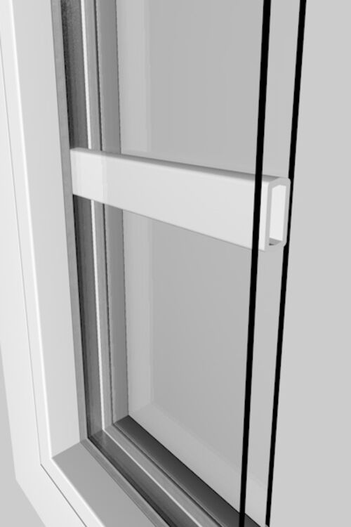 Muntins inside the double glazing for zero maintenance and a clean look.