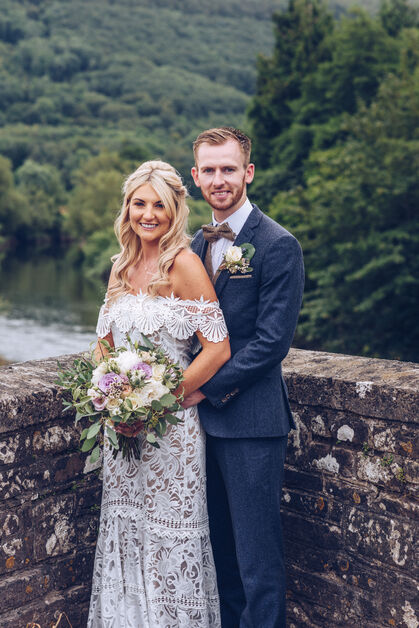Newbridge on Usk wedding photography