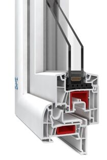 This frame can be used to retro-fit existing window openings.
