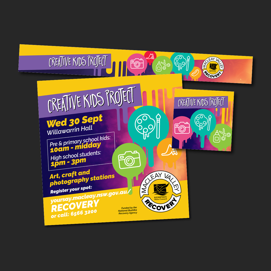 Kempsey Shire Councils - Macleay Valley Recovery Creative Kids Project.
