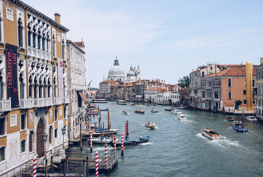 Venice wedding photography by Karl Baker photography