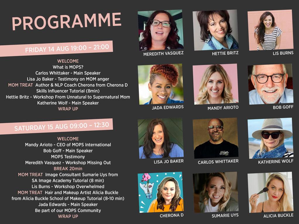 MOMCON2020 programme landscape