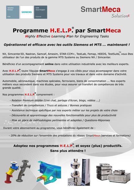 Programme HELP Siemens par SmartMeca 2020