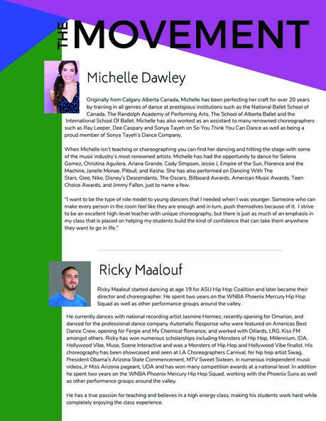 The Movement Bio sheet 2
