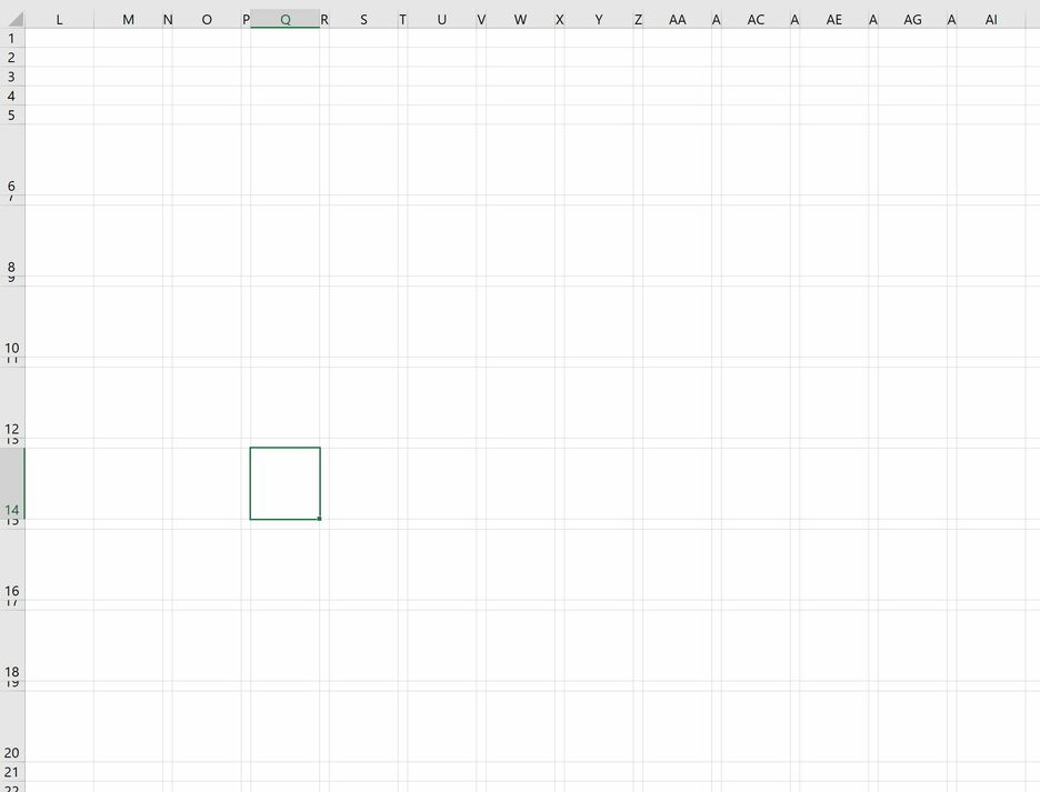 How to create a Grid Map with Sparklines in Excel 7