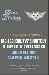 TI OWLS high school shoutout flyer