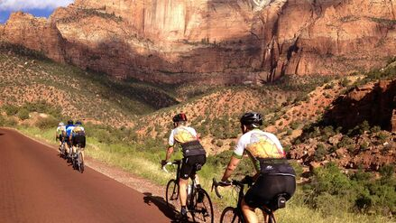 Cycle a number of National Parks as part of our Utah Bike Tour