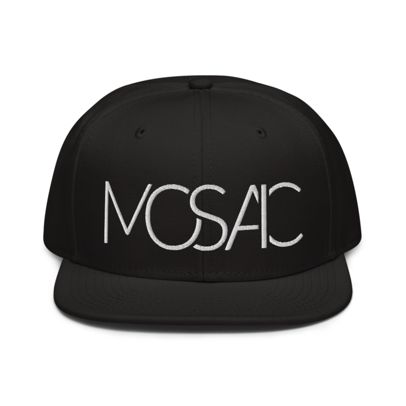 Link to Mosaic Snapback hat