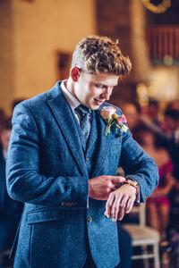 groom wedding in brecon
