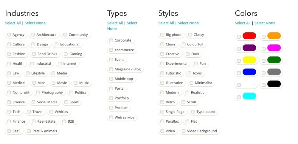 Web Design Inspiration Top 5 Sources Used By Pro Designers