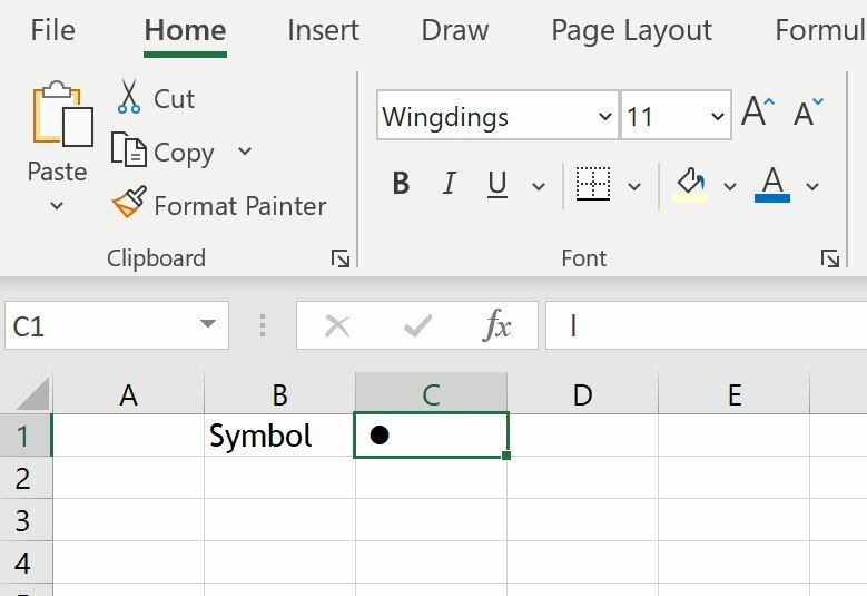How to create a Unit Chart in Excel 3