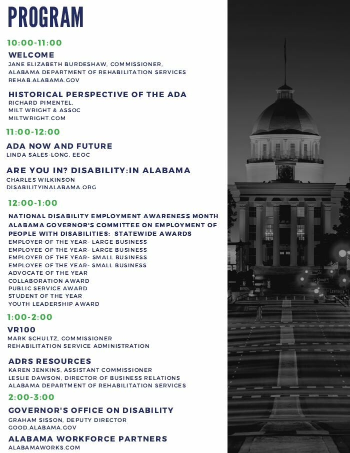 Disability Employment Summit Program
