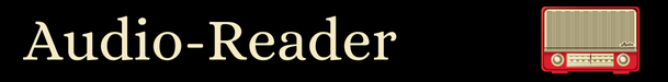 Audio Reader   609x75