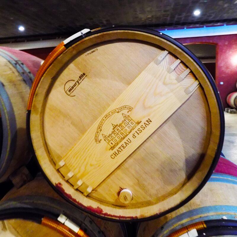 Weinfass / Barrique / Tonneau der Tonnellerie Maury & Fils