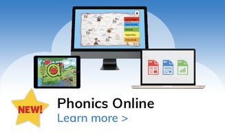 NEW Phonics Online
