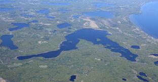 Borden Lake,Crow Wing County. MN