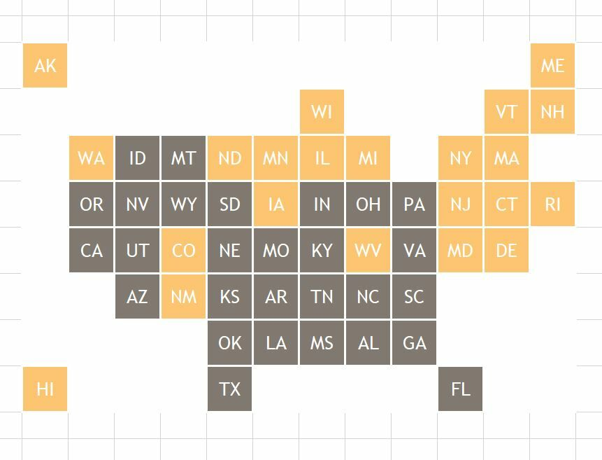 How to create a Grid Map in Excel 8
