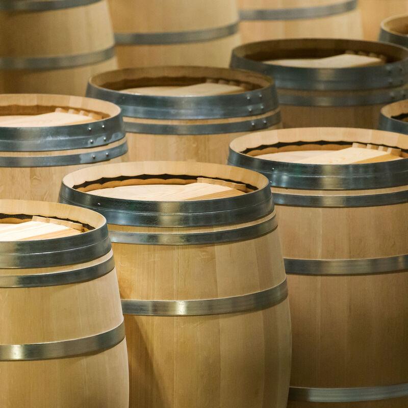 Destillatfässer aus Akazie