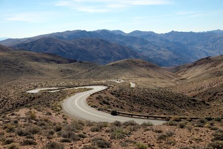 Enjoy a winter break on our Death Valley Bike Tour