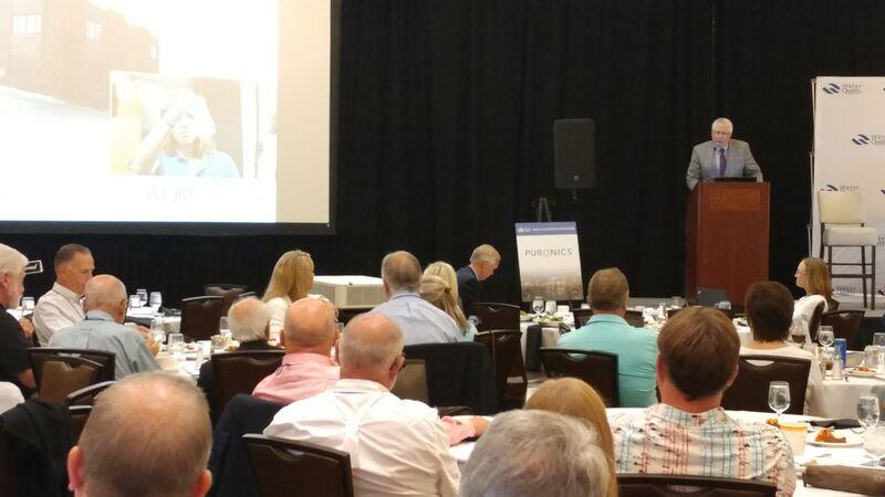 2019 MYLC Industry update lunch President Steve Ver Strat