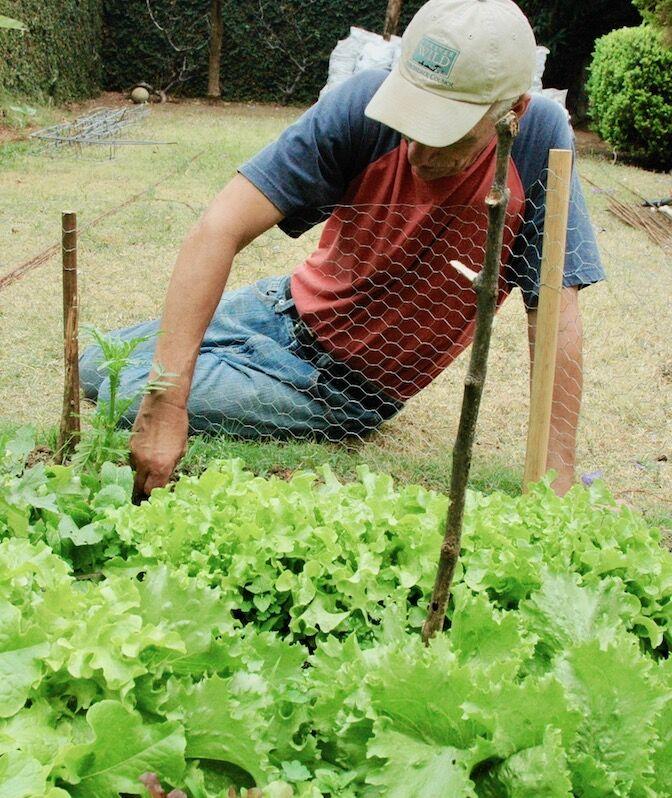 me gardening