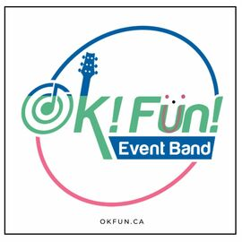 OK!FUN! Event and wedding band logo
