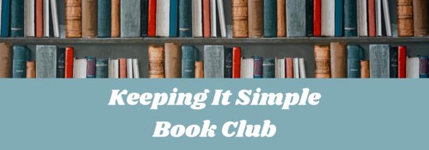 Keeping It Simple Bk Club web banner