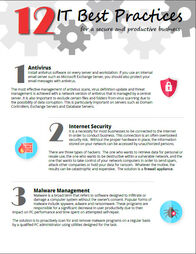 12 IT Best Practices for a Secure and Productive Business