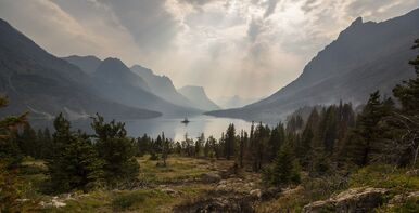 Glacier National Park guided hiking tour