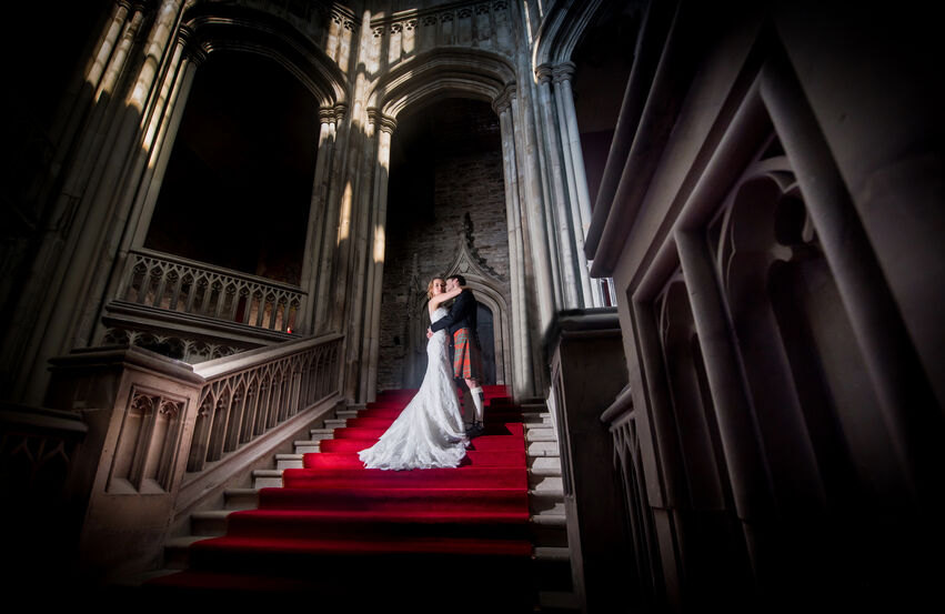 margam park wedding photography by Karl Baker
