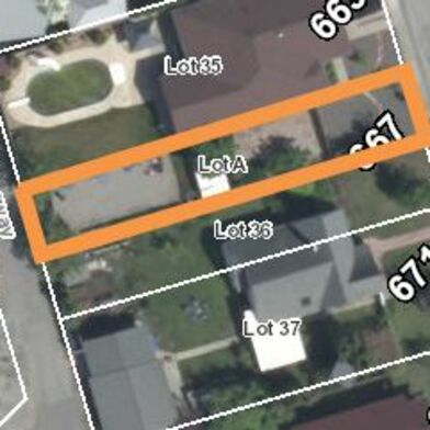 Zoning   667 Victoria Dr