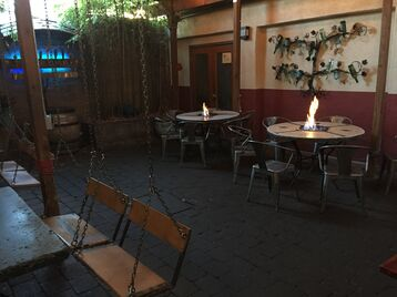 Eastburn, best patio portland, fire tables, happy hour, southeast side. pdx, bestportland, patio rental