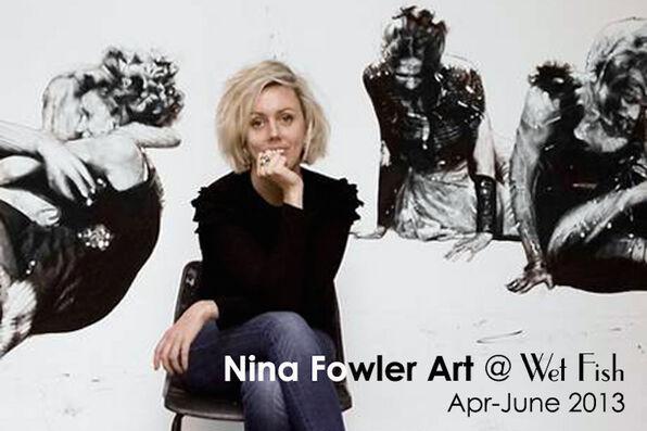 Nina Fowler portrait flyer