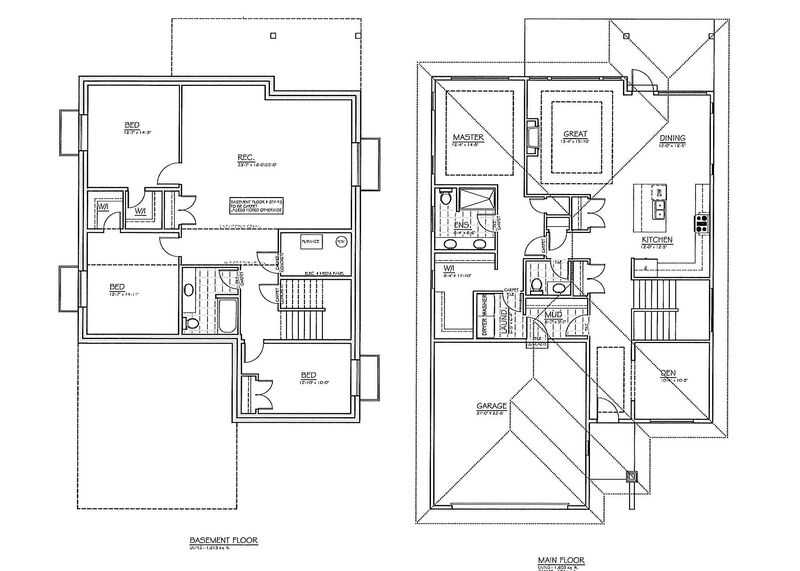 Floor Plan Inside   180 Sendero Cres